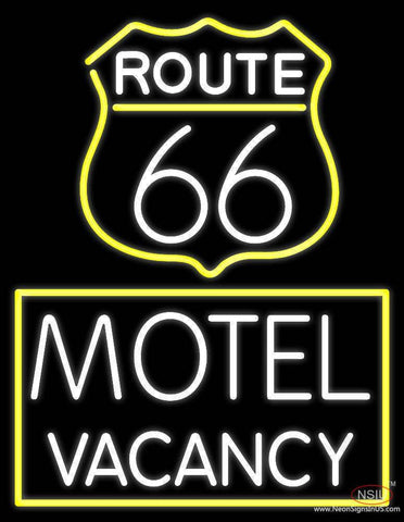 Block Motel Vacancy Real Neon Glass Tube Neon Sign