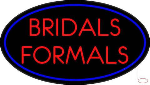 Oval Bridals Formals Real Neon Glass Tube Neon Sign