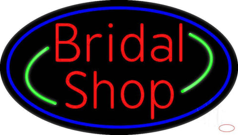 Oval Bridal Shop Real Neon Glass Tube Neon Sign