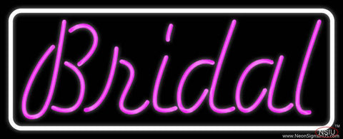 Purple Bridal Cursive Real Neon Glass Tube Neon Sign
