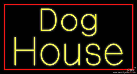 The Dog House  Real Neon Glass Tube Neon Sign