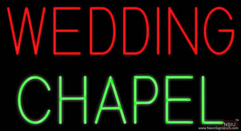 Wedding Chapel Real Neon Glass Tube Neon Sign