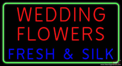 Wedding Flowers Real Neon Glass Tube Neon Sign