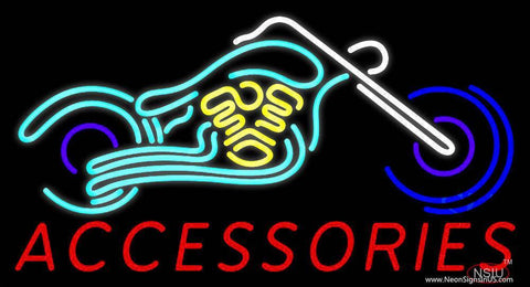 Accessories Block Bike Logo Real Neon Glass Tube Neon Sign