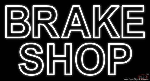 Brake Shop Real Neon Glass Tube Neon Sign