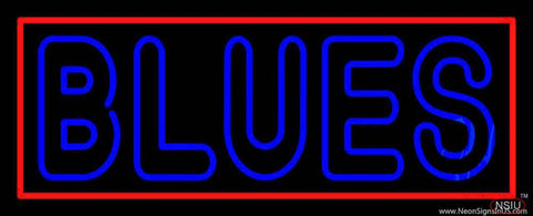 Blues  Real Neon Glass Tube Neon Sign