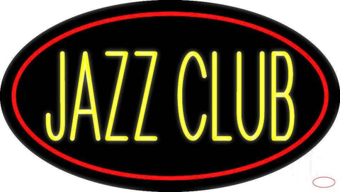 Yellow Jazz Club  Real Neon Glass Tube Neon Sign