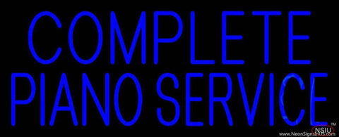 Complete Piano Service  Real Neon Glass Tube Neon Sign