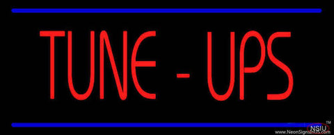Tune-Ups Double Line Real Neon Glass Tube Neon Sign