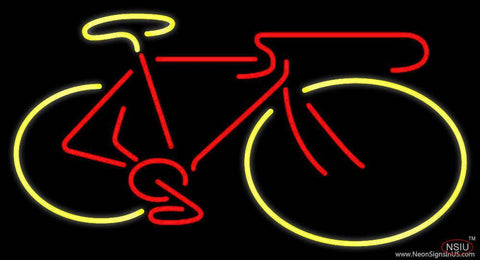 Logo of Bicycle Real Neon Glass Tube Neon Sign