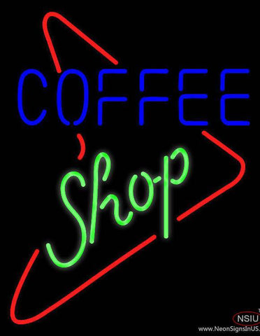 Coffee Shop s Style Real Neon Glass Tube Neon Sign