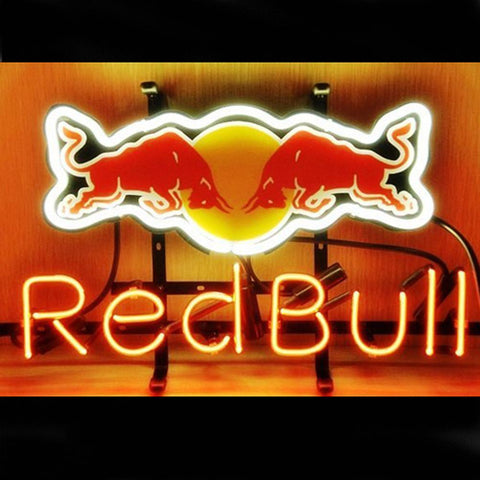Professional  Red Bull Redbull Energy Drink Tube Neon Bar Sign Fast Ship
