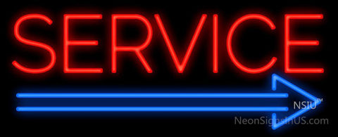 Service Neon Sign