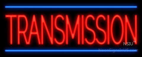 Transmission Neon Sign