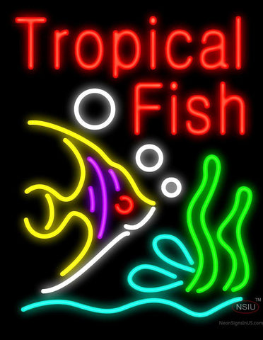 Tropical Fish Neon Sign
