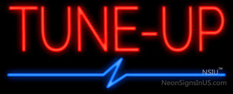 Tune-Up Neon Sign