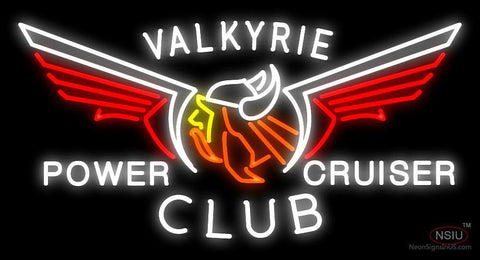 Valkyrie Power Cruiser Club Neon Sign