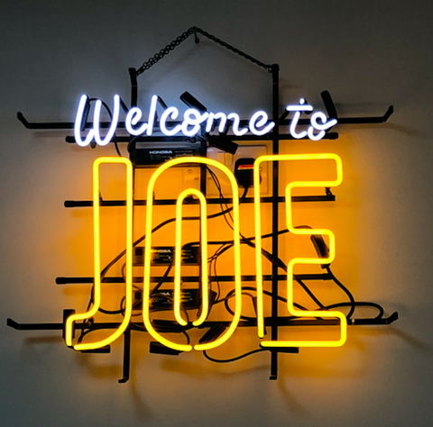 Welcome to joe Real Neon Glass Tube Neon Signs