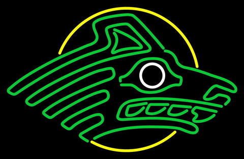Alaska Anchorage Seawolves Primary  Pres Logo NCAA Neon Sign