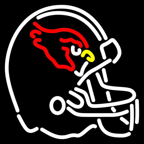 Arizona Cardinals Helmet   Logo NFL Neon Sign