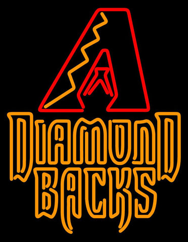 Arizona Diamondbacks   Logo MLB Neon Sign