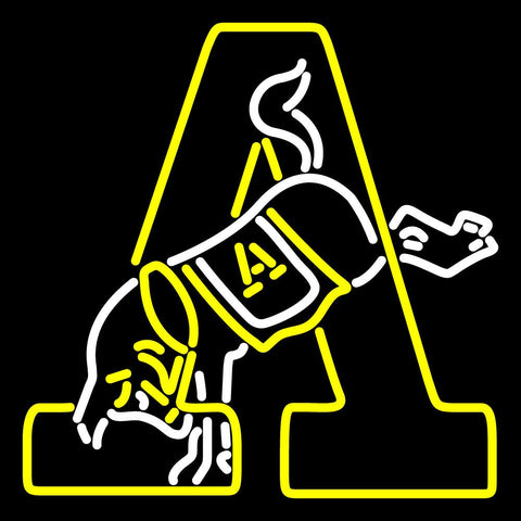 Army Black Knights Primary   Logo NCAA Neon Sign
