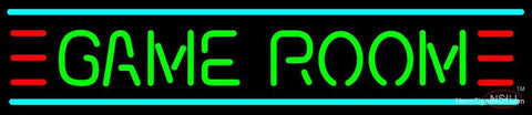 Art Deco Game Room Neon Sign