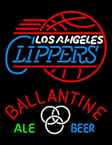 Ballantine Los Angeles Clippers Neon Beer Sign