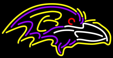 Baltimore Ravens NFL Neon Sign