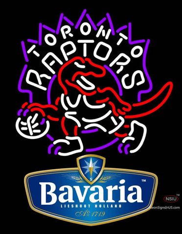 Bavarian Toronto Raptors NBA Neon Beer Sign