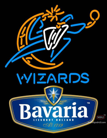 Bavarian Washington Wizards NBA Neon Beer Sign
