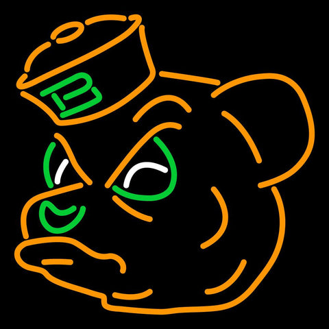 Baylor Bears Primary   Logo NCAA Neon Sign