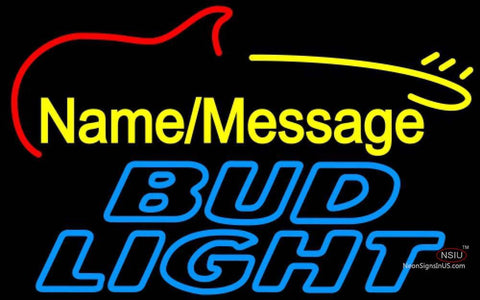 Bud Light Neon Electric GUITAR Neon Sign
