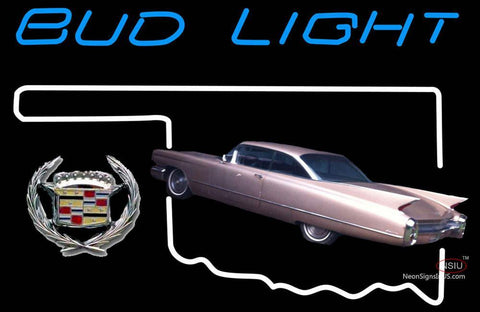 Budlight Oklahoma Calidac Car Neon Sign 7