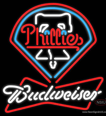 Budweiser Neon Philadelphia Phillies MLB Neon Sign