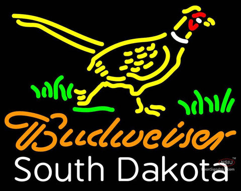 Custom Budweiser South Dakota Neon Sign