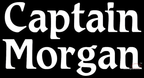 Captain Morgan Neon Sign