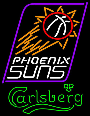 Carlsberg Phoenix Suns NBA Neon Beer Sign