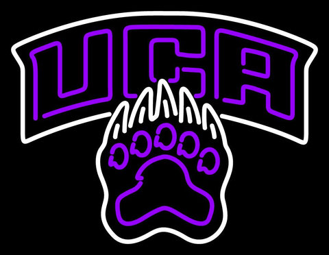 Central Arkansas Bears Alternate  Pres Logo NCAA Neon Sign