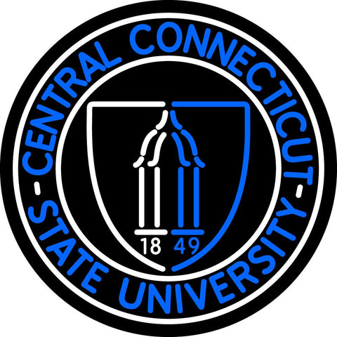 Central Connecticut State University Sign Neon