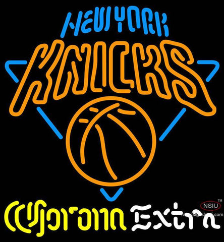 Corona Extra Neon Logo New York Knicks NBA Neon Sign