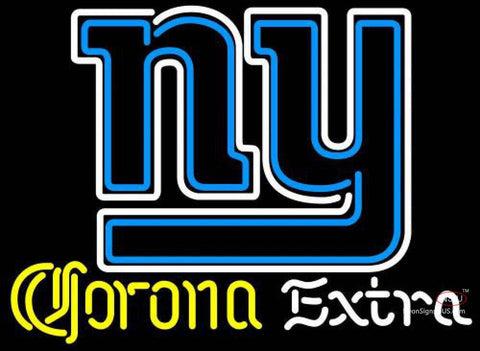Corona Extra Neon New York Giants NFL Neon Sign