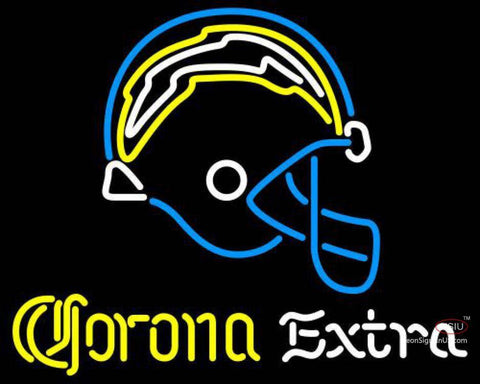Corona Extra Neon San Diego Chargers NFL Neon Sign
