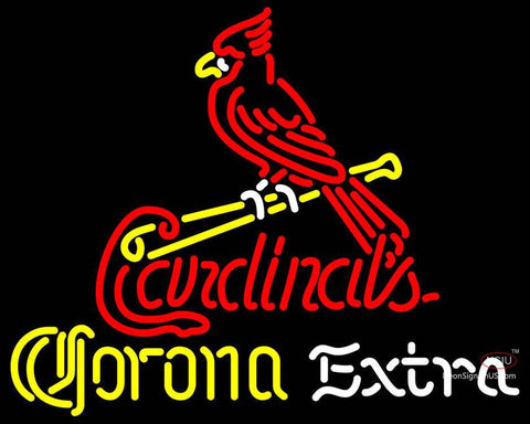 Corona Extra Neon St Louis Cardinals MLB Neon Sign