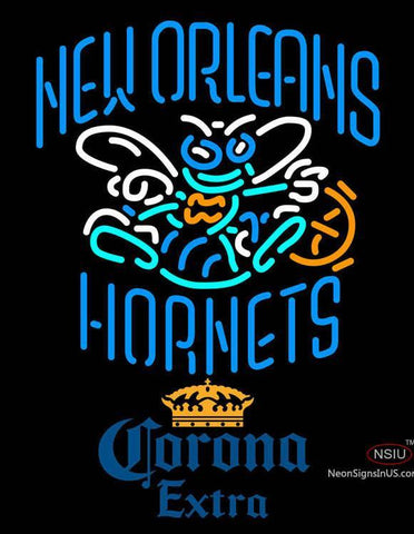 Corona Extra New Orleans Hornets NBA Neon Sign