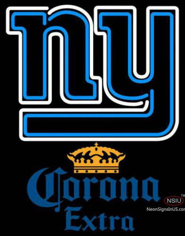 Corona Extra New York Giants NFL Neon Sign