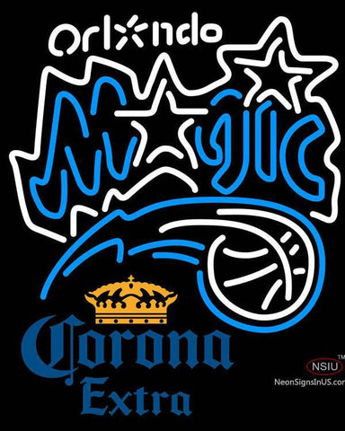 Corona Extra Orlando Magic NBA Neon Sign