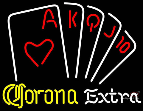 Corona Extra Poker Series Neon Sign