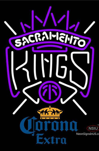 Corona Extra Sacramento Kings NBA Neon Sign