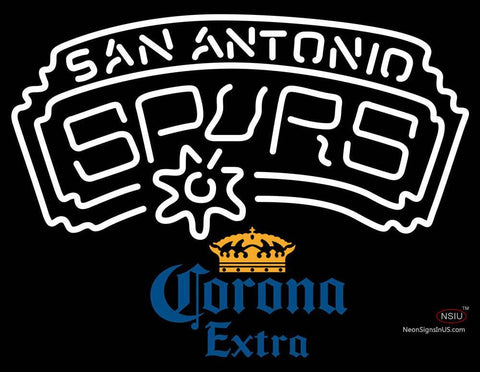 Corona Extra San Antonio Spurs NBA Neon Sign